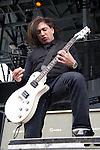 Dave Grahs of Pop Evil performs during the 2013 Rock On The Range festival at Columbus Crew Stadium in Columbus, Ohio.