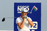 Haydn Porteous (RSA) during the second round of the NBO Open played at Al Mouj Golf, Muscat, Sultanate of Oman. <br /> 16/02/2018.<br /> Picture: Golffile | Phil Inglis<br /> <br /> <br /> All photo usage must carry mandatory copyright credit (&copy; Golffile | Phil Inglis)