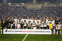 SÃO PAULO,SP,17 JULHO 2013 - FINAL RECOPA SUL-AMERICANA - CORINTHIANS x SÃO PAULO - jogadores  do Corinthians antes da  partida entre Corinthians X São Paulo em jogo válido pela final da Recopa no Estádio Paulo Machado de Carvalho (Pacaembu) na noite desta quara feira (17).FOTO ALE VIANNA - BRAZIL PHOTO PRESS.