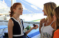 Jessica Jaffe and Kelli Delaney Kot attend The Hampton Classic 2014 on Aug. 27, 2014 (Photo by Taylor Donohue / Guest of a Guest)