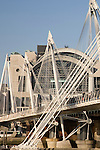 Hungerford Bridge, Charing Cross Railway Station, London