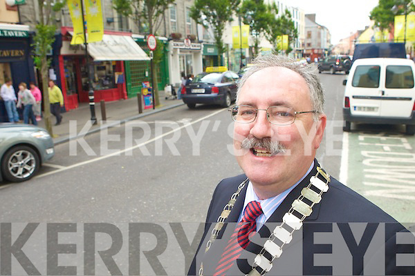Seamus O'Donovan President of Tralee Chamber of Commerce