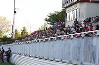 Boyds, MD - Saturday May 14, 2016: Fans during a regular season National Women's Soccer League (NWSL) match at Maureen Hendricks Field, Maryland SoccerPlex. The Washington Spirit defeated the Houston Dash 1-0.