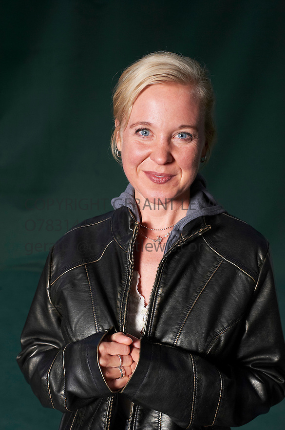 Kristin Hersh, American Indie Music Singer and songwriter who has written her memoir calle Rat Girl .She is the lead singer and guitarist for the alternative rock group Throwing Muses The Edinburgh International Book Festival 2011.  Credit Geraint Lewis