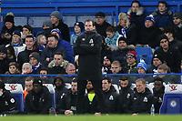 Huddersfield Town Manager, Jan Siewert during Chelsea vs Huddersfield Town, Premier League Football at Stamford Bridge on 2nd February 2019