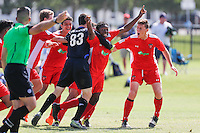 Frisco, TX - Thursday, June 25, 2016: USSDA - U15/U16 2016 June Playoffs and Showcase