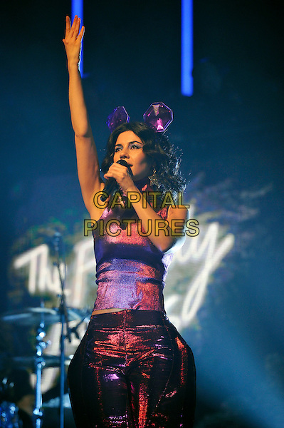LONDON, ENGLAND - DECEMBER 6: Marina Diamandis of 'Marina and The Diamonds' performing at London Palladium on December 6, 2015 in London, England.<br /> CAP/MAR<br /> &copy; Martin Harris/Capital Pictures
