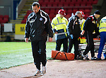 St Johnstone v Kilmarnock....06.11.10  .Not Derek Mcinnes's day as he trudges down the touchline.Picture by Graeme Hart..Copyright Perthshire Picture Agency.Tel: 01738 623350  Mobile: 07990 594431