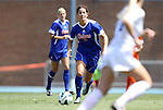 26 August 2012: Florida's Jo Dragotta. The University of Florida Gators defeated the Duke University Blue Devils 3-2 in overtime at Fetzer Field in Chapel Hill, North Carolina in a 2012 NCAA Division I Women's Soccer game.