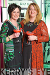 Anna O'Sullivan Ronse and Penny Breen Beaufort at the Designer Salon Show during Kerry Fashion Weekend in the The Ross Hotel, Killarney, on Saturday night.