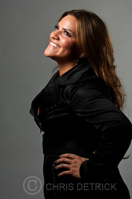 Chris Detrick     The Salt Lake Tribune.Daniela Lopez poses for a portrait Friday October 14, 2011.