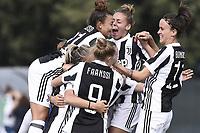 Mozzanica (Bg) 30/09/2017 - campionato di calcio serie A femminile / Mozzanica - Juventus / foto Daniele Buffa/Image Sport/Insidefoto<br /> nella foto: esultanza gol Barbara Bonansea