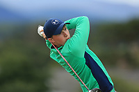 Mark Power of Ireland during day 1 of the Boys' Home Internationals played at Royal Dornoch, Dornoch, Sutherland, Scotland. 07/08/2018<br /> Picture: Golffile | Phil Inglis<br /> <br /> All photo usage must carry mandatory copyright credit (&copy; Golffile | Phil Inglis)