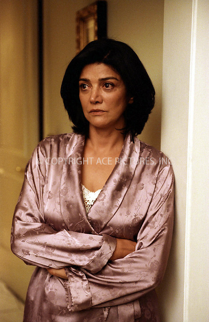 SHOHREH AGHDASHLOO in the drama 'House of Sand and Fog.' 2003....Ref: TVSL0001. NY Photo Press does not claim any Copyright or License in the attached material. The attached material intended for reference or research. By publishing this material, the user expressly agrees to indemnify and to hold NY Photo Press harmless from any claims, demands, or causes of action arising out of or connected in any way with user's publication of the material.....NY Photo Press:  ..phone (646) 267-6913;   ..e-mail: info@nyphotopress.com