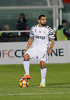 Dani Alves  during the  italian serie a soccer match,between Crotone and Juventus      at  the Scida   stadium in Crotone  Italy , February 08, 2017