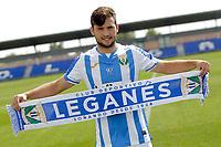 CD Leganes' new player Jose Arnaiz during his official presentation. August 16, 2018.  *** Local Caption *** © pixathlon