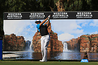 Simon Yates (SCO) in action on the 12th during Round 2 of the ISPS Handa World Super 6 Perth at Lake Karrinyup Country Club on the Friday 9th February 2018.<br /> Picture:  Thos Caffrey / www.golffile.ie<br /> <br /> All photo usage must carry mandatory copyright credit (&copy; Golffile | Thos Caffrey)