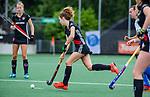 AMSTELVEEN - Sacha Eikelboom,  ,  finale Kampong MB1-Amsterdam MB1. AMSTERDAM MB1 wint de titel Meisjes B. finales A en B jeugd  Nederlands Kampioenschap.  COPYRIGHT KOEN SUYK