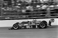INDIANAPOLIS, IN - MAY 24: Tim Richmond drives AJ Foyt's Parnelli VPJ6C/Cosworth during the Indianapolis 500 USAC/CART Indy Car race at the Indianapolis Motor Speedway in Indianapolis, Indiana, on May 24, 1981.