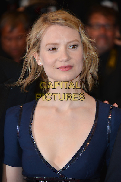 CANNES, FRANCE - MAY 19: Mia Wasikowska attends the 'Maps To The Stars' premiere during the 67th Annual Cannes Film Festival on May 19, 2014 in Cannes, France.<br /> CAP/PL<br /> &copy;Phil Loftus/Capital Pictures
