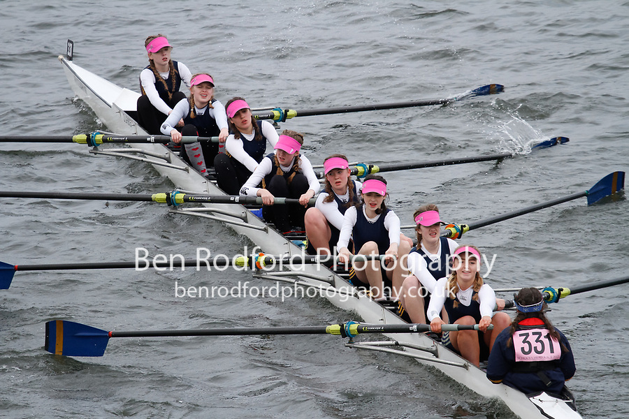 Crew: 331  Durham ARC  Event: Girls J15 CHAMP eights<br /> <br /> Schools' Head of the River 2017<br /> <br /> To purchase this photo, or to see pricing information for Prints and Downloads, click the blue 'Add to Cart' button at the top-right of the page.