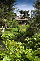 Japanese gateway at Kew gardens, London, England.