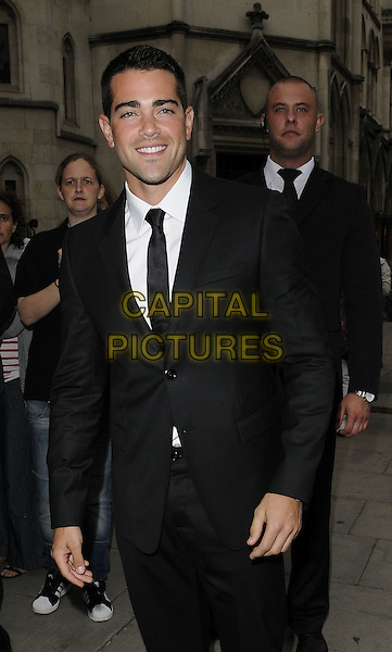 Jesse Metcalfe  .Shooting Stars Benefit closing ball, Royal Courts of Justice, The Strand,  London, UK, 5th August 2011..half length black suit tie white shirt smiling .CAP/CAN.©Can Nguyen/Capital Pictures.