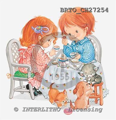 Alfredo, CHILDREN, paintings, BRTOCH27254,#k# Kinder, niños, illustrations, pinturas ,everyday