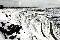 The Olcon iron-ore mine in Olenegorsk, north of the Arctic Circle. /Felix Features