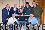 Kerry players and management check out the facilities at the new gym opened by former Kerry great Sean O'Sullivan and Jerry Coffey at Callinafercy Pier rowing club on Saturday front l-r: Jerry Coffey, Donnachadh Walsh, Sean O'Sullivan. Back row: James Clifford, John Brassil Kerry mayor, Eamon fitzmaurice and Diarmuid O'Keeffe