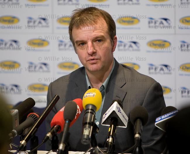 Fraser Wishart at the PFA Awards