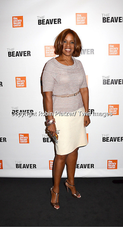 "Gayle King attending the special screening of ""The Beaver"" on     May 4, 2011 at The Walter Reade Theatre in New York City. Jodie Foster is the director and the star of the movie."