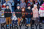 Waiting for Santa at CH Chemist Christmas Parade Tralee on Saturday were Ryan, Scott, Brandan, Neill O'Shea, Martin Hruz, Lucy O'Shea and Emma O'Shea