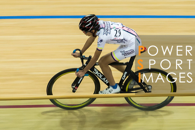 Tam Sze Hang of X SPEED competes in the Omnium category during the Hong Kong Track Cycling Race 2017 Series 6 at Hong Kong Velodrome on 12 March 2017, in Hong Kong, China. Photo by Marcio Rodrigo Machado / Power Sport Images