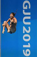 Maha Eissa EGY Egypt <br /> Gwangju South Korea 18/07/2019<br /> Women's 3m Springboard  Preliminary <br /> 18th FINA World Aquatics Championships<br /> Nambu University Aquatics Center  <br /> Photo © Andrea Staccioli / Deepbluemedia / Insidefoto