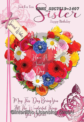 John, FLOWERS, BLUMEN, FLORES, paintings+++++,GBHSSSC7519-1407,#F#, EVERYDAY,heart
