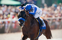 Capital Account with David Flores up wins the Pat O' Brien Stakes at Del Mar Race Course in Del Mar, California on August 26, 2012.