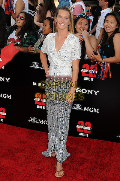 10 June 2014 - Westwood, California - Heather Morris. &quot;22 Jump Street&quot; Los Angeles Premiere held at the Regency Village Theatre. <br /> CAP/ADM/BP<br /> &copy;Byron Purvis/AdMedia/Capital Pictures