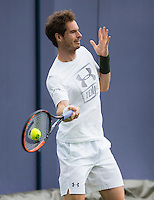 ANDY MURRAY (GBR), PRACTICE, IVAN LENDL, JAMIE DELGADO<br /> <br /> TENNIS - AEGON CHAMPIONSHIPS - QUEENS - ATP - ATP500 - CHAMPIONSHIPS-GRASS - LONDON - UNITED KINGDOM - 2016  <br /> <br /> <br /> <br /> &copy; TENNIS PHOTO NETWORK