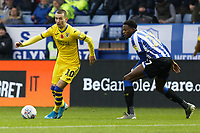 (L-R) Bersant Celina of Swansea City and Dominic Iorfa of Sheffield Wednesday in action during the Sky Bet Championship match between Sheffield Wednesday and Swansea City at Hillsborough Stadium, Sheffield, England, UK. Saturday 09 November 2019