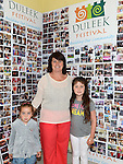 Rosie and Millie-Ann Dowd and Anna-May Smith pictured at the Duleek Festival. Photo:Colin Bell/pressphotos.ie