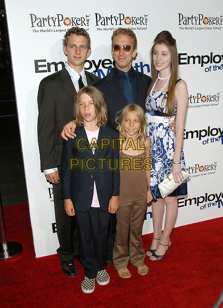 "ANDY DICK & GUESTS.The Lions Gate Premiere of ""Employee of the Month"" held at The Grauman's Chinese Theatre in Hollywood, California, USA. .September 19th, 2006.Ref: DVS.full length blue brown suit dress.www.capitalpictures.com.sales@capitalpictures.com.©Debbie VanStory/Capital Pictures"