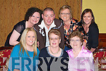 60TH: Josephine O'Sullivan Kerins Park, Tralee with her family as she celebrated her 60th Birthday in the Grand Hotel, Tralee on Saturday night. Front l-r: Kay O'Sullivan, Josephine O'Sullivan (birthday lady) and Pat O'Shea. Back l-r: Helen Merritt, Martin O'Shea, Susan Susan O'Shea and Pauline O'Shea............................... ..............................   Copyright Kerry's Eye 2008
