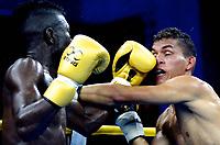 Serie mundial de boxeo 2018, Barranquilla, Colombia vs Venezuela
