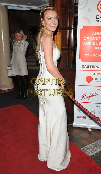 Camilla Kerslake attends the Eastern Seasons Week gala dinner, Madame Tussaud's ( London ), Marylebone Road, London, UK, on Monday 30 November 2015.<br /> CAP/CAN<br /> &copy;Can Nguyen/Capital Pictures