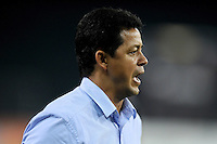 Washington, D.C.- July 20, 2014. Chivas USA Head Coach Wilmer Cabrera  D.C. United defeated Chivas USA 3-1 during a Major League Soccer Match for the 2014 season at RFK Stadium.