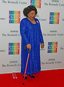 Martina Arroyo arrives for the formal Artist's Dinner honoring the recipients of the 2013 Kennedy Center Honors hosted by United States Secretary of State John F. Kerry at the U.S. Department of State in Washington, D.C. on Saturday, December 7, 2013. The 2013 honorees are: opera singer Martina Arroyo; pianist,  keyboardist, bandleader and composer Herbie Hancock; pianist, singer and songwriter Billy Joel; actress Shirley MacLaine; and musician and songwriter Carlos Santana.<br /> Credit: Ron Sachs / CNP