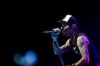 SAO PAULO, SP, 23 DE MARÇO DE 2013 - SHOW CAPITAL INICIAL - Apresentação da banda Capital Inicial, realizada na noite deste sabado (23) no Credicard Hall em São Paulo. FOTO: LEVI BIANCO - BRAZIL PHOTO PRESS