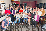 Peter Hawkins celebrates his 50th Birthday with family and friends at Slieve Mish Bar on Saturday