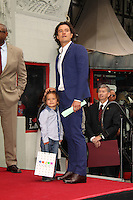 Orlando Bloom and son Flynn Bloom<br />